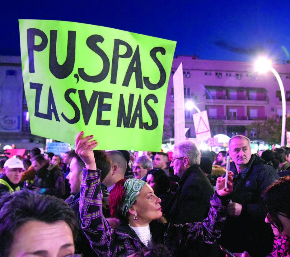 PROTESTI U PODGORICI, BEOGRADU I TIRANI: Šta donosi proljeće