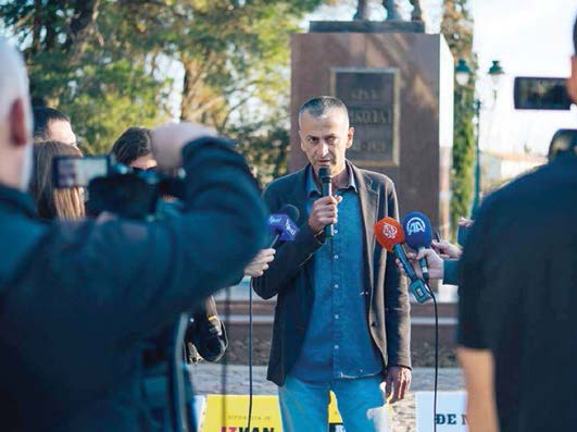 OMER ŠARKIĆ, POKRET 97000 ODUPRI SE!: Dosta je trpljenja
