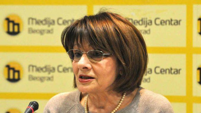 JELICA MINIĆ, PREDSJEDNICA EVROPSKOG POKRETA U SRBIJI: Ne možemo pobjeći od Evropske unije
